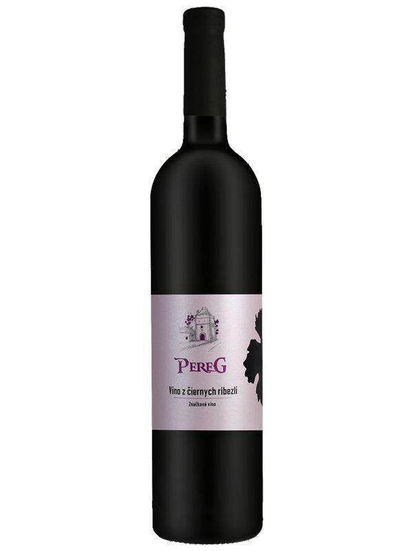 Víno z čierných ríbezlí